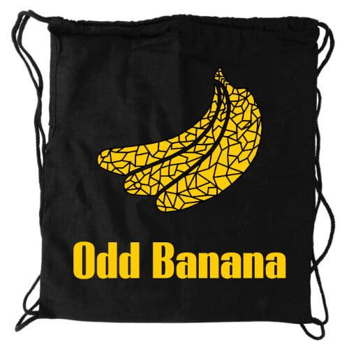 Odd Banana Rugtas met frickle design